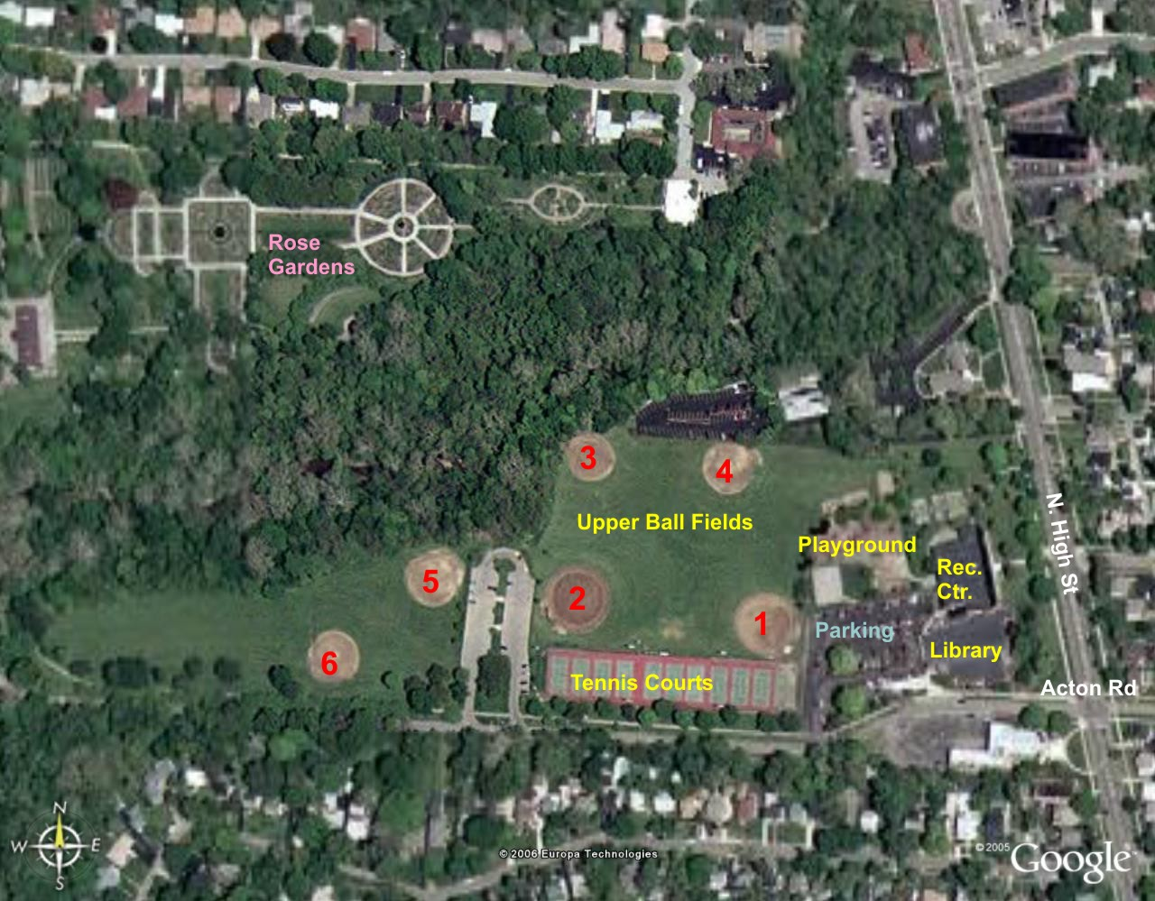 Clintonville Online Parks And Recreation